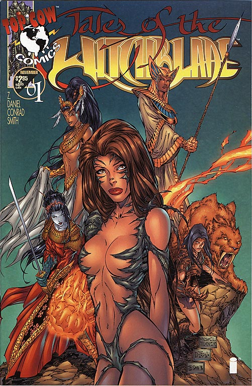 Tales of the Witchblade 1 (M Turner alt cvr)