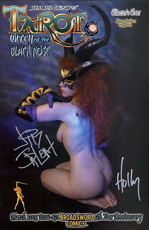 Tarot Witch of the Black Rose 31 (Limited Photo cover Signed 1 of 1000 )