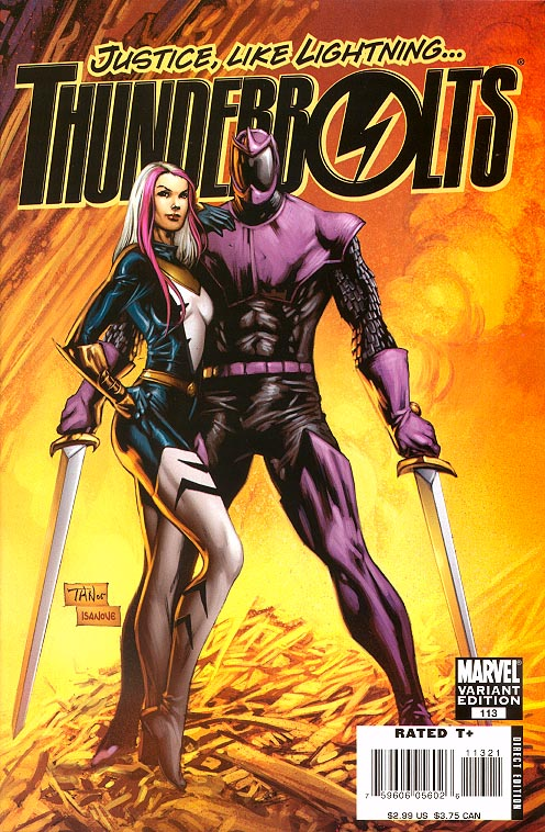 Thunderbolts 113 ( 1 in 14 Incentive Tan Variant)
