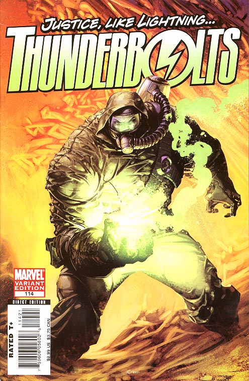 Thunderbolts 114 ( 1 in 15 Incentive Crain Variant)
