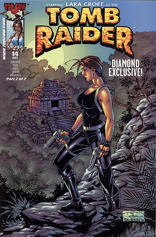 Tomb Raider 14 (Andy Park Alternate Cvr)