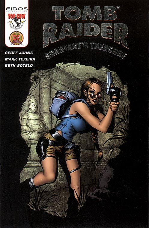 Tomb Raider Scarfaces Treasure 1 (DF Exclusive Gold Foil Logo Cvr)