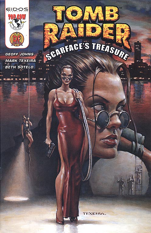 Tomb Raider Scarfaces Treasure 1 A (DF Excl Mark Texiera Variant 1 of 5000 )