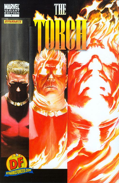 Torch 1 (DF Exclusive Alex Ross Variant 1 of 699 )