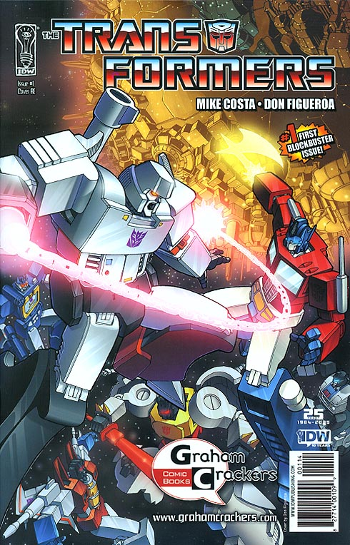 Transformers (IDW) 1 RE (Graham Crackers Exclusive Variant)