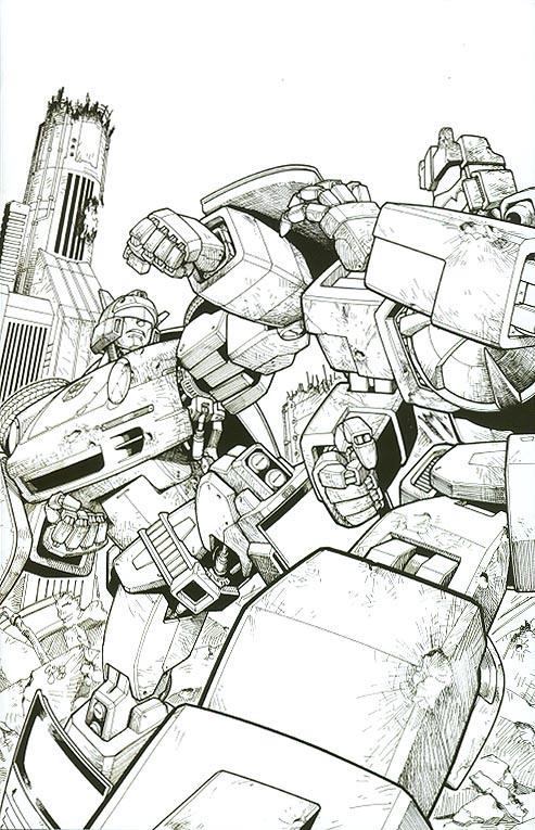Transformers Spotlight Jazz ( 1 in 10 Order Incentive Sketch Variant)