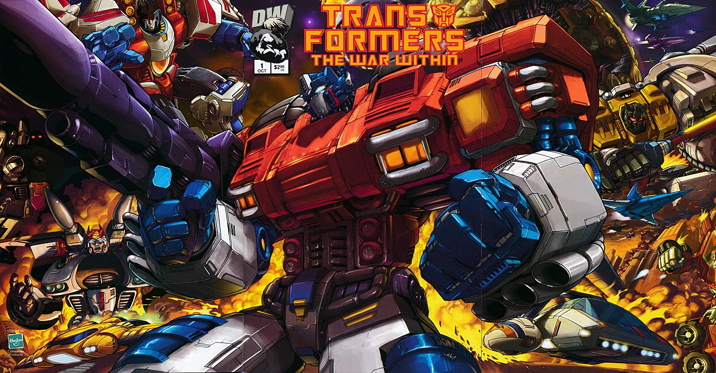 Transformers The War Within (Dreamwave) 1 (Tri=Gatefold Cover)
