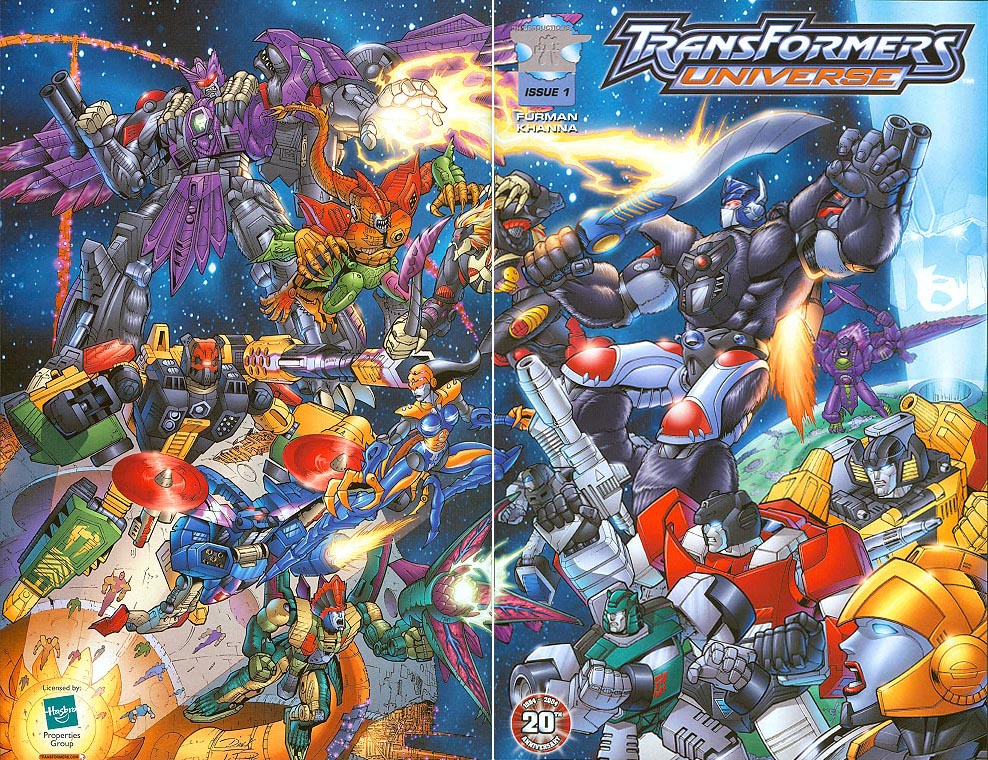 Transformers Universe 1 (Convention Cover)