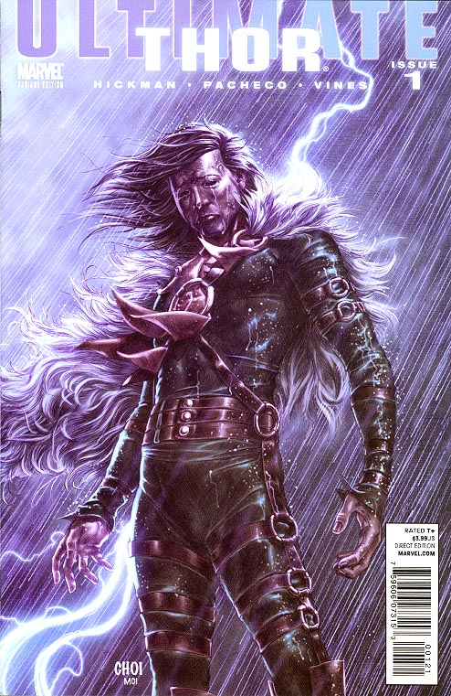 Ultimate Comics Thor 1 (of 4 ) ( 1 in 20 Choi Villain Variant)