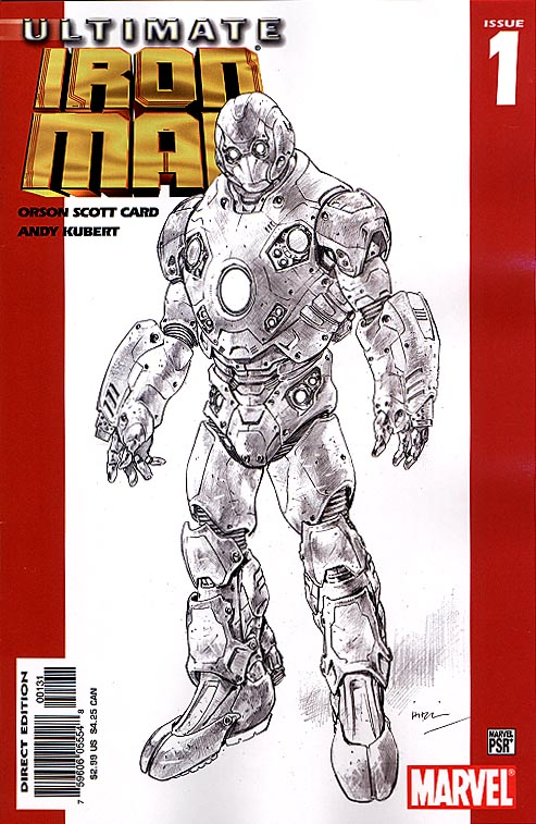 Ultimate Iron Man 1 (Variant Sketch Cvr)