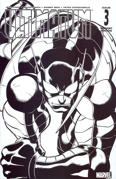 Ultimatum 3 (of 5 ) ( 1 in 75 Incentive Sketch Variant)