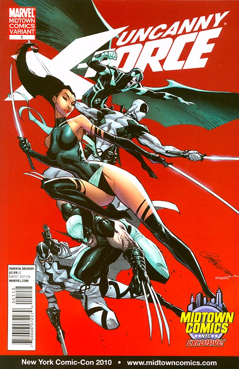 Uncanny X-Force 1 (Midtown Excl Campbell Variant) )