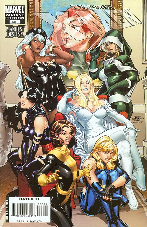 Uncanny X-Men 500 ( 1 in 30 Incentive Terry Dodson Variant)