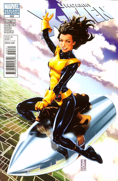 Uncanny X-Men 522 ( 1 in 25 Kirry Pride Returns Mark Brooks Variant)