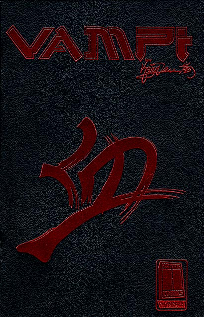 Vampi Ashcan (preview) (Leather Ruby Red Foil Ed)
