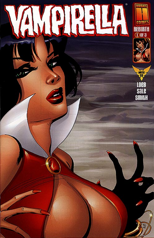 Vampirella Rebirth 1 (of 3 ) (DF Excl Alt Tim Sale cvr 1 of 3500 )