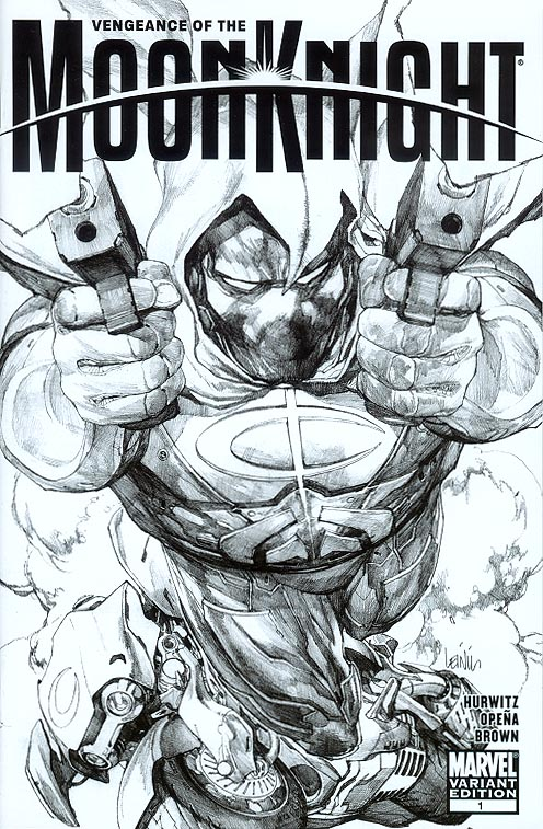 Vengeance Of The Moon Night 1 ( 1 in 50 Incentive Sketch Leinil Francis Yu Variant)