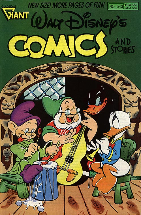 Walt Disneys Comics & Stories (Gladstone) 543