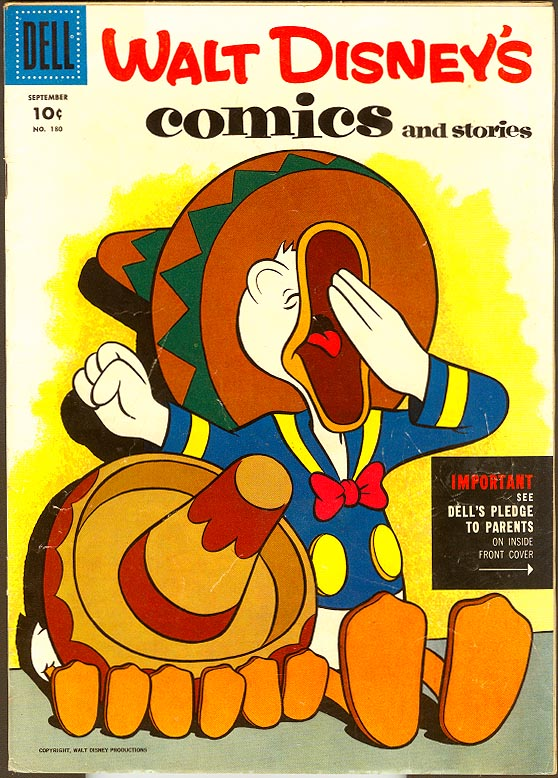 Walt Disneys Comics and Stories (Dell) 180