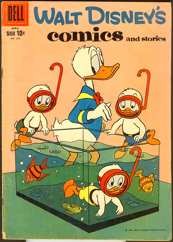 Walt Disneys Comics and Stories (Dell) 223