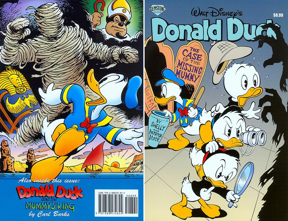 Walt Disneys Donald Duck The Case of the Missing Mummy
