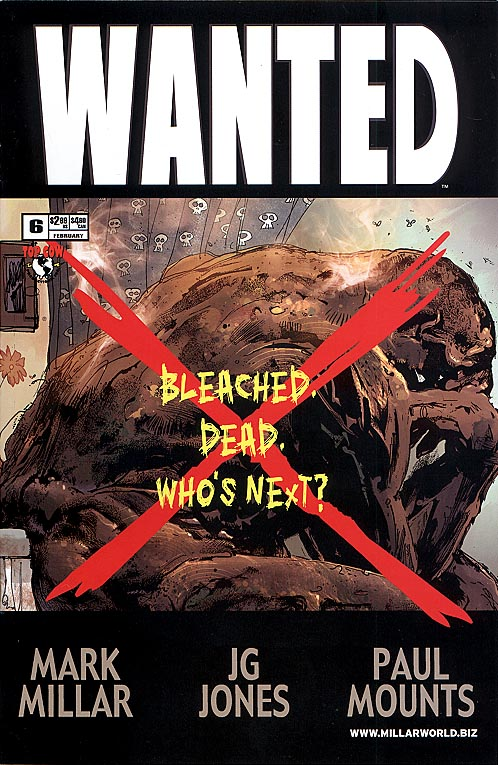 Wanted (Image) 6 B (Bleached Variant)