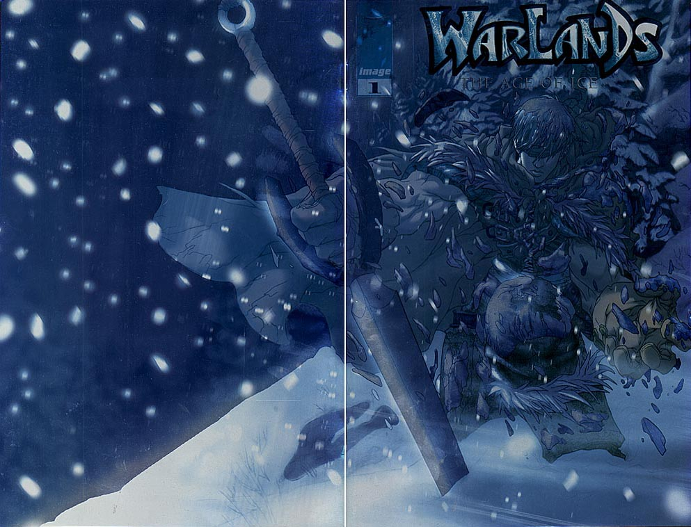 Warlands The Age Of Ice 1 (Pat Lee Holofoil Wrap Cvr)