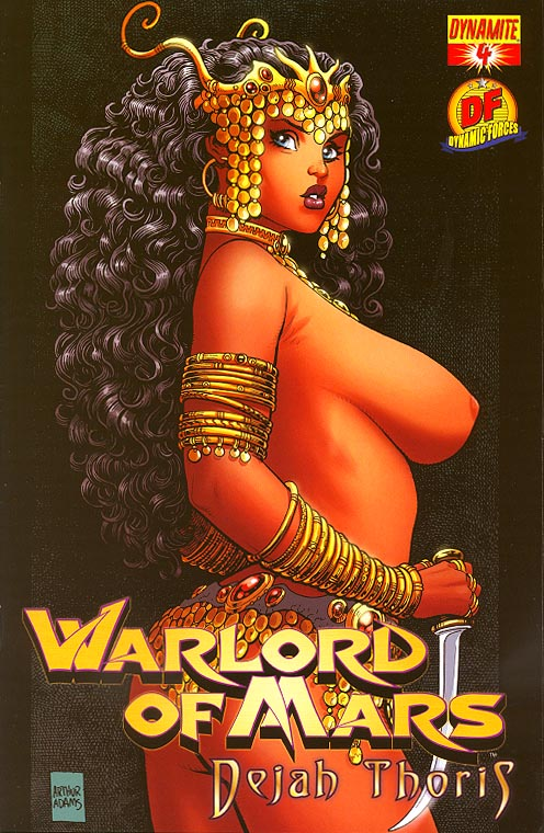 Warlord Of Mars Dejah Thoris 4 (DF Risque Variant 1 of 1100 )