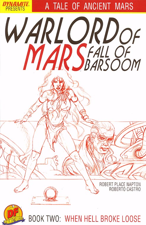 Warlord Of Mars Fall of Barsoom 2 (DF Jusko Sketch Martian Red Variant 1 of 400 )