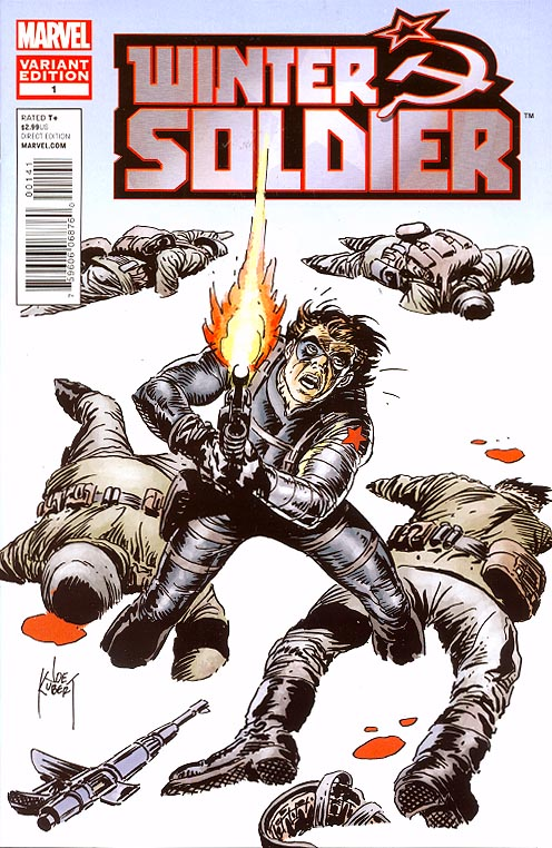 Winter Soldier 1 ( 1 in 25 Joe Kubert Variant)