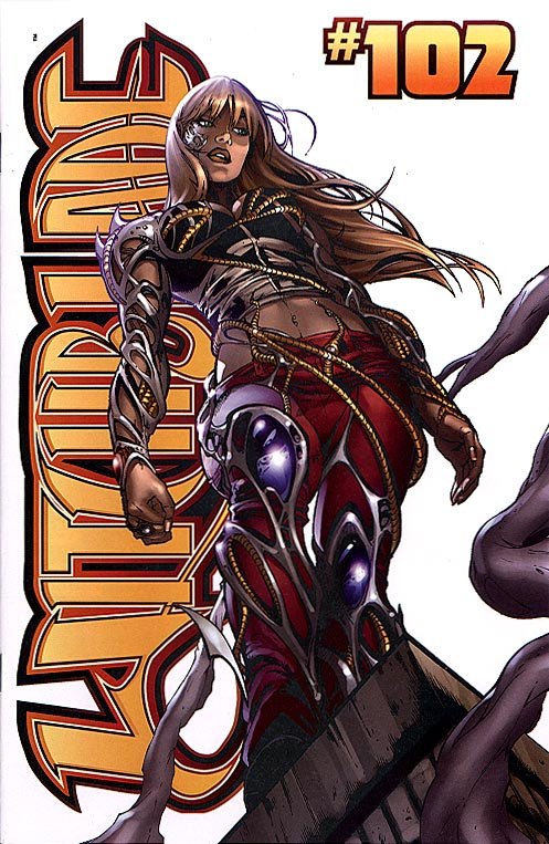 Witchblade 102 (Graham Crackers variant cvr)