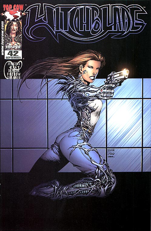 Witchblade 42 (Cold Steel Ed 1 of 4000 )