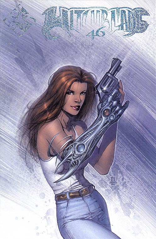 Witchblade 46 (Top Cow Select Keu Cha Prism Logo Cvr)
