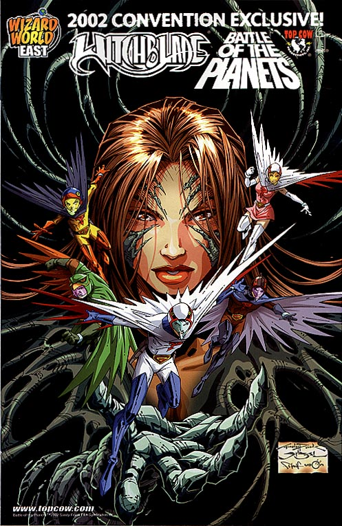Witchblade 55 (Battle Of The Planets 2002 Convention Cvr)