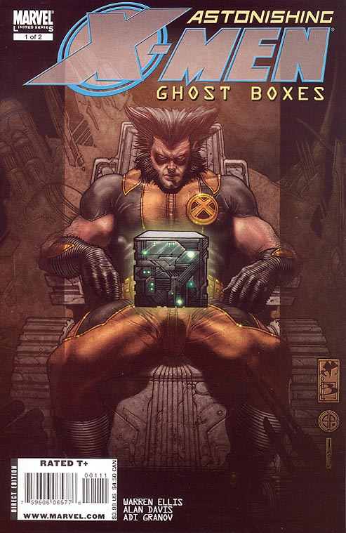 Astonishing X-Men Ghost Boxes 1 (of 2 )
