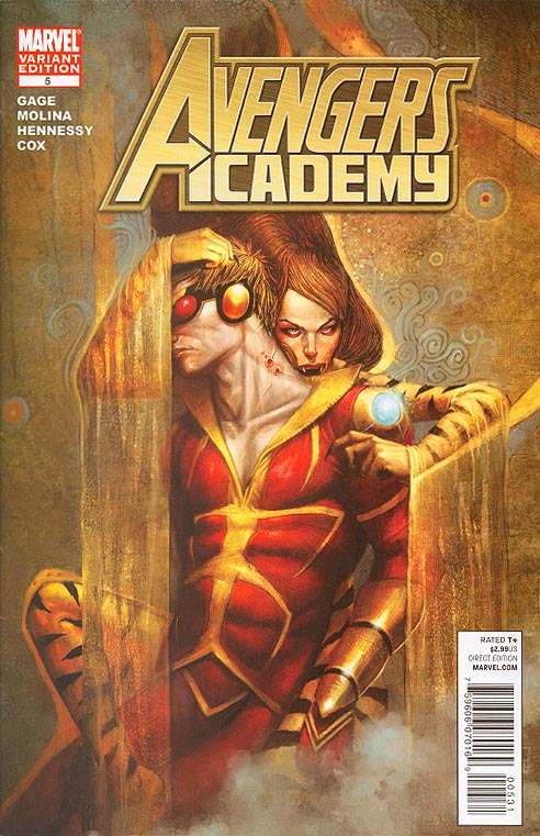 Avengers Academy 5 ( 1 in 15 JS Rossbach Vampire Variant)