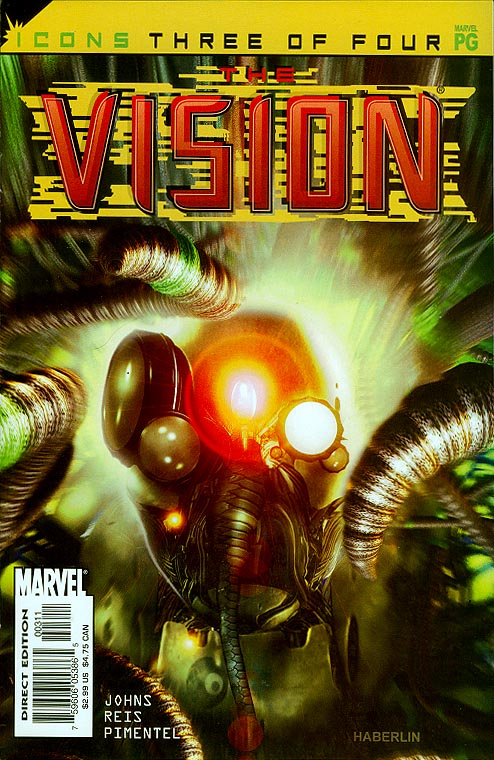 Avengers Icons The Vision 3 (of 4 )