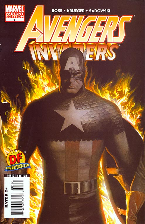 Avengers Invaders 1 (DF Alex Ross Variant 1 of 2999 )