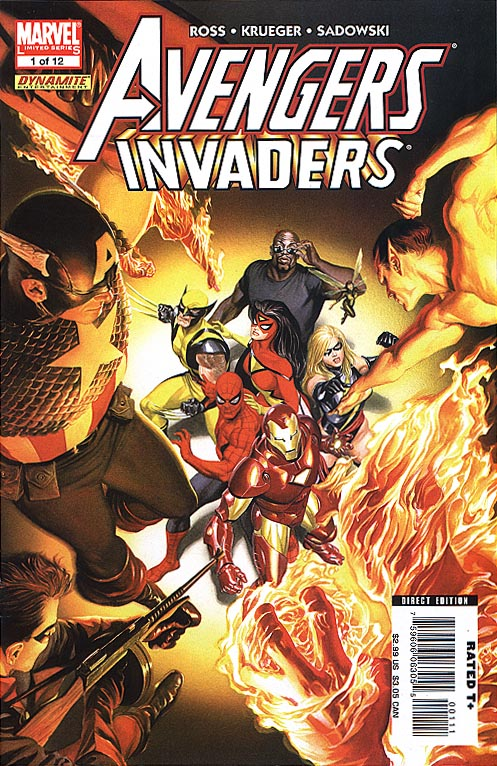 Avengers Invaders 1 (of 12 )