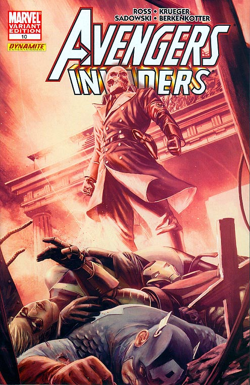 Avengers Invaders 10 (of 12 ) ( 1 in 25 Incentive Mitch Breitweiser Variant)