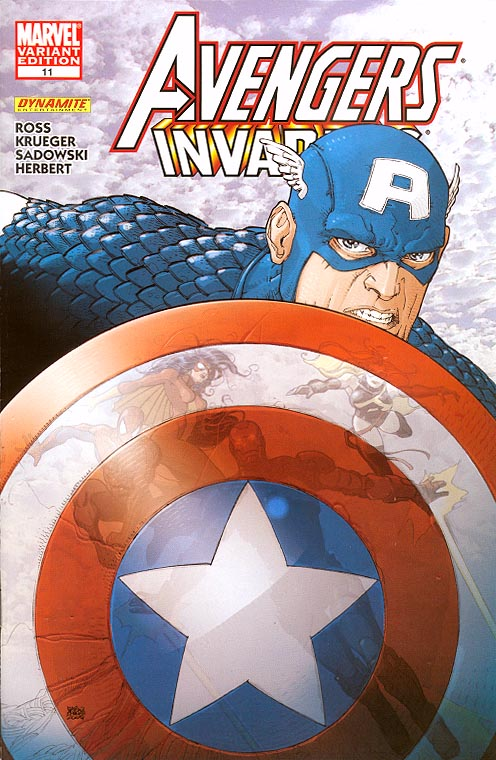 Avengers Invaders 11 (of 11 ) ( 1 in 25 Incentive Alberti Variant)