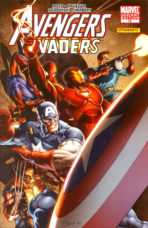 Avengers Invaders 12 (of 12 ) ( 1 in 25 Incentive Eaglesham Variant)