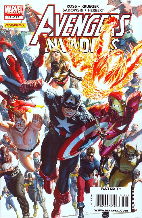 Avengers Invaders 12 (of 12 )