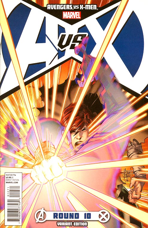 Avengers Vs X-Men 10 (of 12 ) ( 1 in 50 Adam Kubert Variant)
