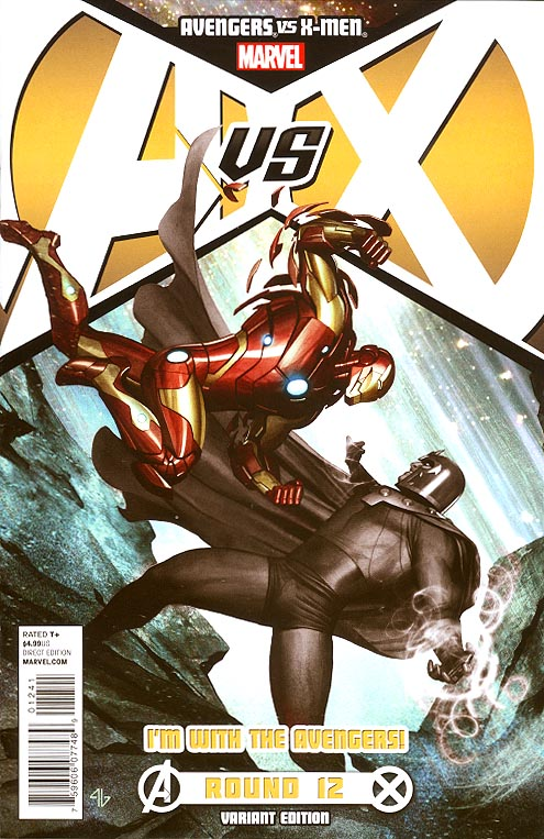 Avengers Vs X-Men 12 (of 12 ) (Adi Granov Avengers Team Variant)