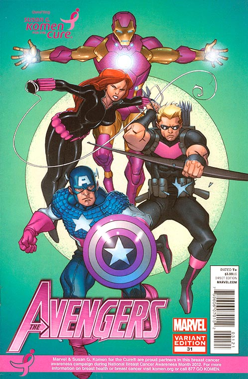 Avengers vol 4 - 31 (Limited Komen Pasqual Ferry Variant)