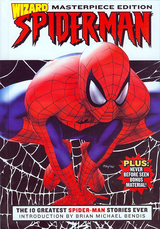 Wizard Spider-Man Masterpiece Edition HC