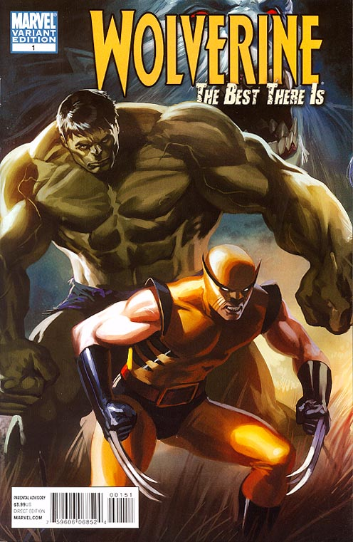 Wolverine The Best There Is 1 ( 1 in 50 Incentive Djurdjevic Variant)
