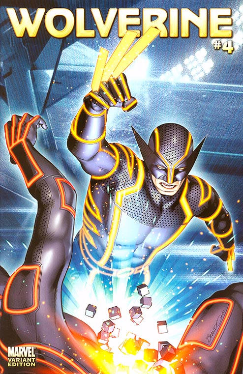 Wolverine vol 4 - 4 ( 1 in 10 Peterson Tron Variant)