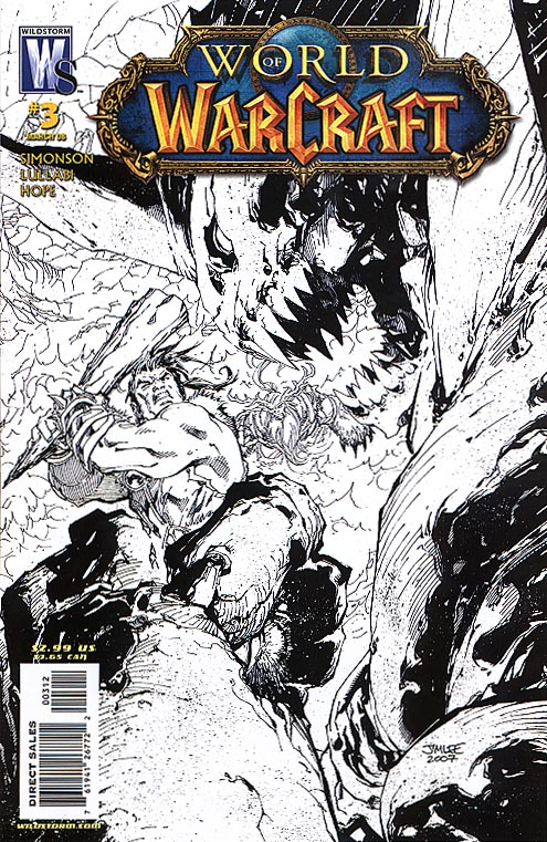 World Of Warcraft (WS-DC) 3 (Second Printing Black&White Cvr)